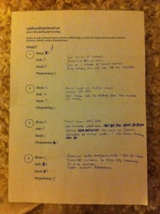 Ett av fem protokoll